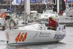 Daniel Vodicka před startem