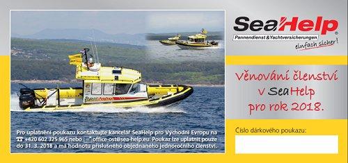 Věnujte členství v Sea Help