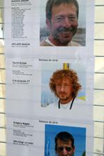 profily závodníků před závodním molem
