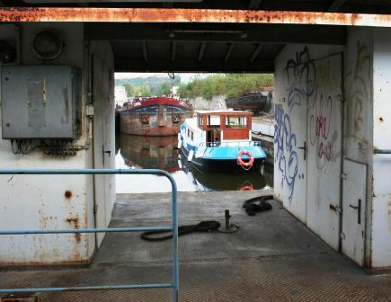 Lukrécie v Holešovickém přístavu